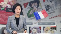 Korean webtoons showcased in France