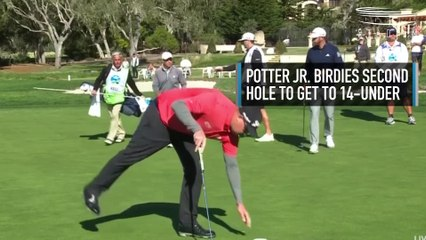 Ted Potter Jr. Captures AT&T Pebble Beach Pro-Am