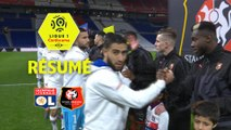 Olympique Lyonnais - Stade Rennais FC (0-2)  - Résumé - (OL-SRFC) / 2017-18
