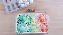 Cool Whip Marbled Eggs