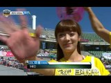 【TVPP】Soyul(Crayon Pop) - W 100m Preliminaries, 소율(크레용팝) - 여자 100m 예선 @ 2013 Idol Star Championship