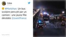 Morbihan. Un bus scolaire percuté par un camion : une lycéenne décédée.