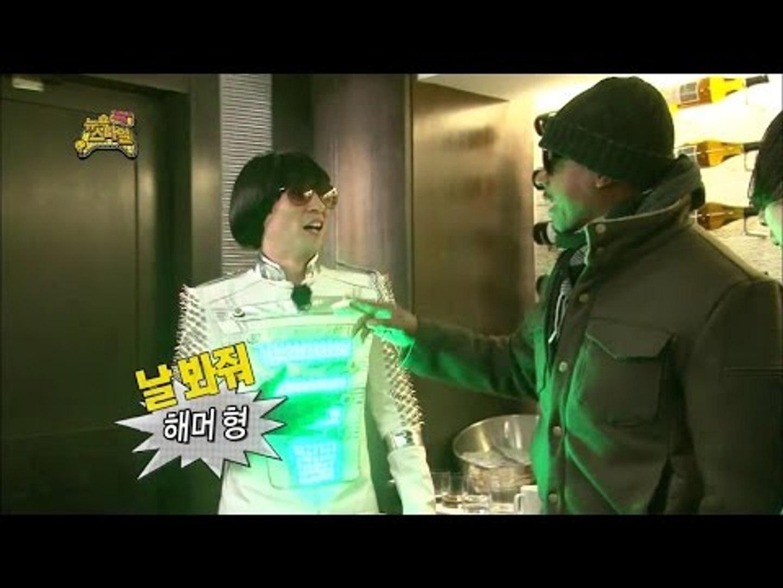 【TVPP】Yoo Jae Suk - Meet his idol MC Hammer, 유재석 - 청년 시절 우상 MC 해머 앞에서 들뜬 MC 날유 @ Infinite Challenge