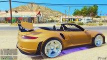 GTA V - PORSCHE 911 TURBO S CABRIOLET (GTA 5 911 PORSCHE Mods)