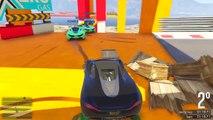 GTA 5 ONLINE  MEGA RAZZO IN GARA !!!!!  GARE STUNT N*116 GTA 5 ITA  DAJE