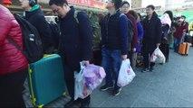 Nouvel an lunaire: des millions de Chinois rentrent chez eux