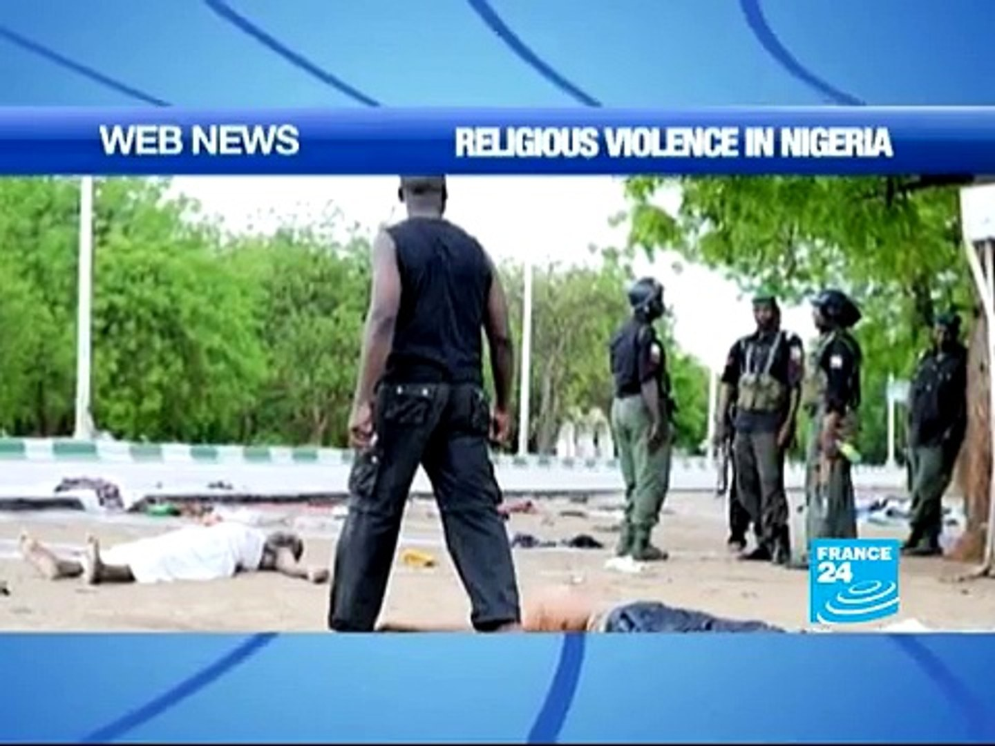Religious violence flares up in Nigeria