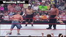 John Cena vs Great Khali vs Umaga - No Disqualification Triple Threat Match