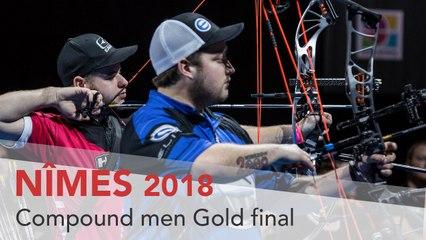 Mike Schloesser v Kristofer Schaff – Compound Men's Gold Final | Nimes 2018