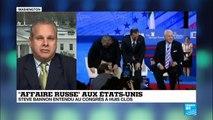 Affaire russe aux Etats-Unis - Steve Bannon cité à comparaître