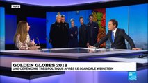 Golden Globes 2018 - Le tapis rouge vêtu de noir contre les violences sexuelles