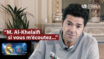 """Pour Jamel Debbouze, """"Real-PSG, c'est Léon contre Lila"""" !"""