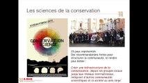 Innover pour conserver: Partager la recherche, vers une communauté interdisciplinaire renforcée