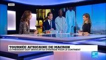 Visite en Afrique : Macron veut rompre avec ses prédécesseurs