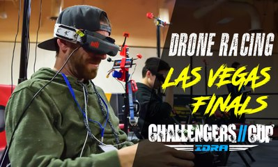 Drone Racing - Practice Day at Las Vegas Finals