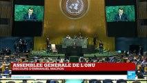 REPLAY - Discours d''Emmanuel Macron lors de l''Assemblée générale de l''ONU