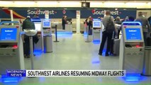 Southwest Airlines Flights Resume at Chicago Airport After Running Out of De-Icer