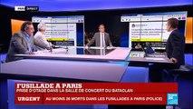 """Attentats Paris : """"Ils ont crié Allah Akbar et ont tiré sur la foule"""" (témoin sur France Info)"""