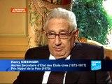 Henry Kissinger, ancien Secrétaire d'Etat américain (1973-1977) et Prix Nobel de la Paix (1973)