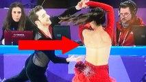Ice Dancer Yura Min Suffers MAJOR Wardrobe Malfunction at the 2018 Winter Olympics