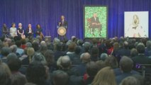 Los Obama ya tienen retratos oficiales en la Galería Nacional del Retrato