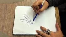 """Comment dessiner """"Le chat du rabbin"""", la leçon de dessin de Joann Sfar"""