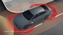 Audi A7 Animation parking and garage pilot and maneuvering assist