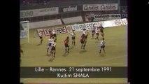 21/09/91 : Kujtim Shala (90') : Lille - Rennes (1-1)