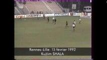 15/02/92 : Kujtim Shala (50') : Rennes - Lille (2-3)