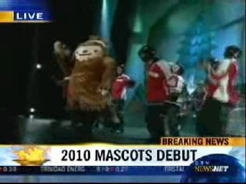 Vancouver 2010 WOG - Unveiling of the Mascots