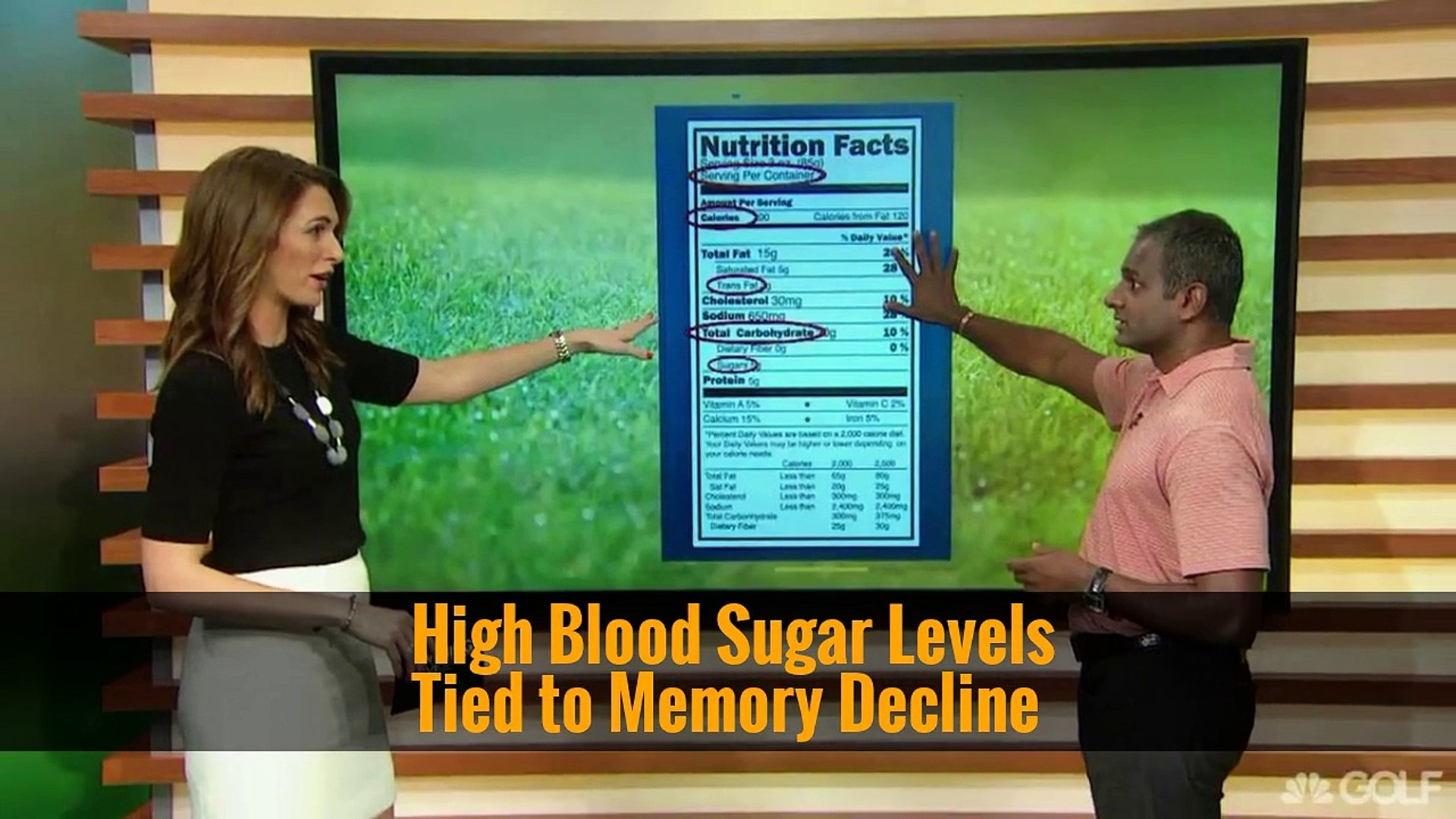 High Blood Sugar Levels Tied to Memory Decline
