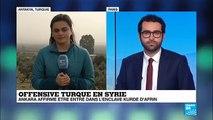 Syrie : l'offensive turque contre les Kurdes se poursuit, Washington appelle à la retenue