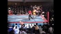 Mr. Gannosuke/The Gladiator/Yukihiro Kanemura vs Terry Funk/The Sandman/Tommy Dreamer (FMW December 20th, 1997)