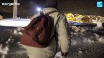 """""""Une seule peur : la police""""  -  Migrants : À l'épreuve des Alpes"""
