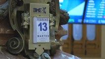 Telefónica lidera las pérdidas de un Ibex que se aleja de los 9.800 puntos