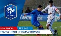U18, Amical : France-Italie (1-1), le résumé