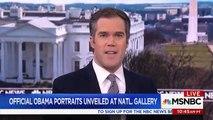 """Barack Obama se moque de son propre physique lors de l'inauguration de son portrait officiel : """"J'ai essayé de négocier"""