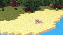 Wolf Life Full Animation - Alien Being Minecraft Animation