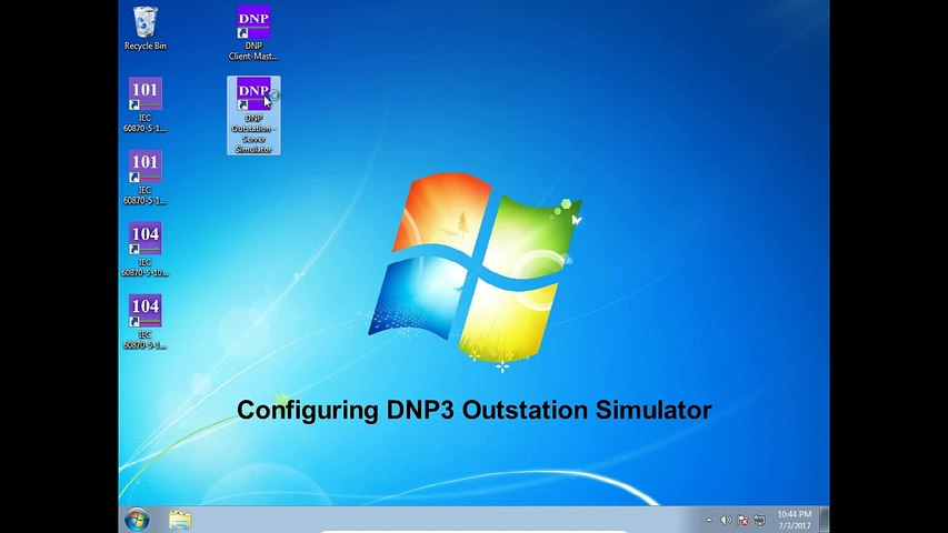 DNP3 Outstation (Server) and Client (Master) Simulator Tutorial (Old)