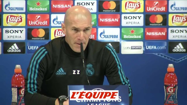 Foot - C1 - Real Madrid : Zidane «Pas un duel Neymar-Ronaldo»