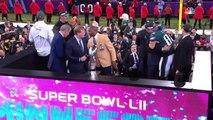 Super bowl - Eagles Trophy Presentation & MVP Ceremony!  Eagles vs. Patriots  Super Bowl LII Postgame