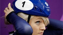 British Speed Skater Christie Crashes Out Of 500-Meter Short Track Final