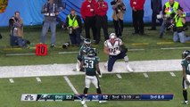 Super bowl - Rob Gronkowski Goes Off in 2nd Half!  Eagles vs. Patriots  Super Bowl LII Player Highlights