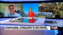 Tuerie de Las Vegas : le débat rituel sur les armes à feu fait son retour