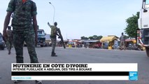 Mutinerie en Côte d'Ivoire - Intense fusillade à Abidjan, des tirs à Bouaké