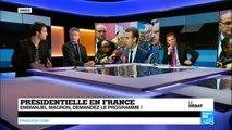 Présidentielle en France : Emmanuel Macron abat ses cartes (partie 1)