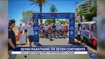 Virginia Man Runs Seven Marathons on Seven Continents for Charity