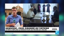 Le pape François demande pardon pour le rôle de l'Église dans le génocide rwandais