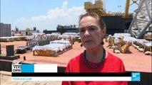 Brésil : le feu d'artifice de Copacabana écourté cette année