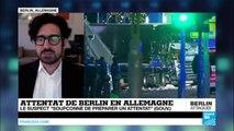 """Attentat de Berlin revendiqué par l'EI : Le suspect déjà """"soupçonné de préparer un attentat"""""""